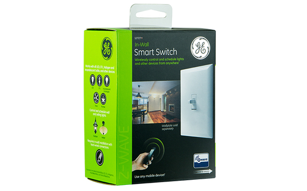 ge in wall toggle switch dimmer things smartthings shop. Black Bedroom Furniture Sets. Home Design Ideas