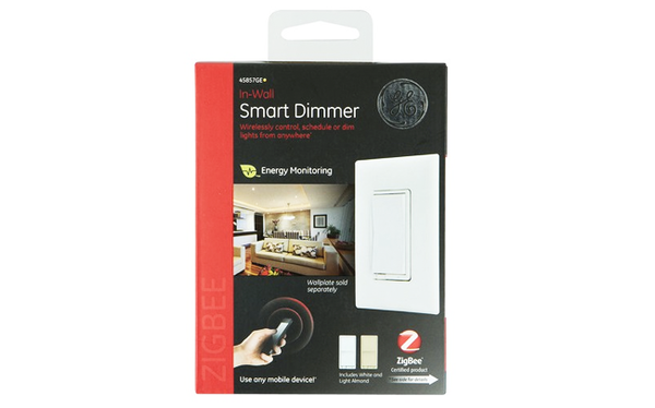 ge in wall smart switch zigbee things smartthings shop. Black Bedroom Furniture Sets. Home Design Ideas